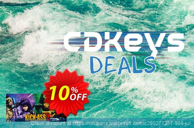 KickAss 2 PC discount 10% OFF, 2020 Back to School coupons offering sales