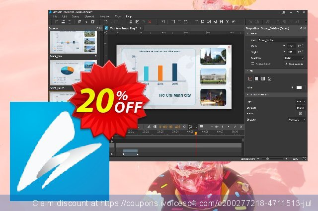 Get 20% OFF Saola Animate 2 Pro offering sales
