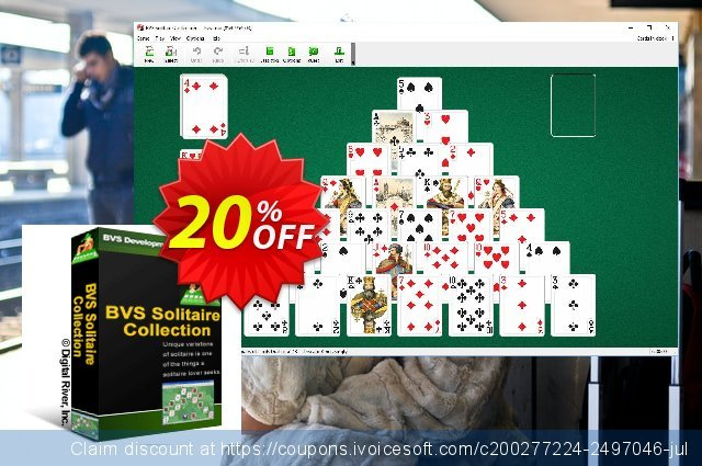 BVS Solitaire Collection discount 20% OFF, 2020 Back to School promo offering sales