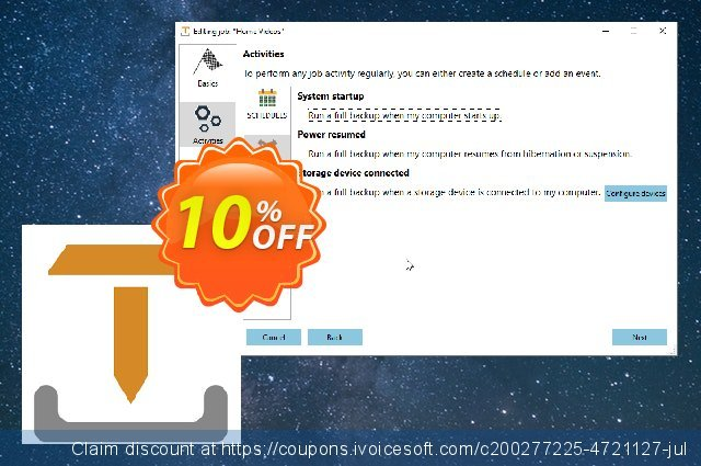 IvyBackup Standard Edition discount 10% OFF, 2021 New Year sales