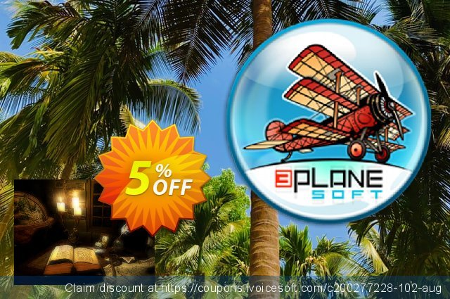 3PlaneSoft Discovery 3D Screensaver discount 5% OFF, 2020 Halloween offering sales