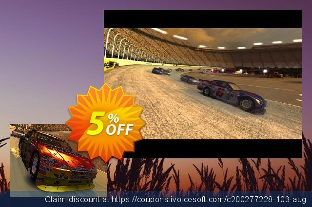 3PlaneSoft Stock Car Racing 3D Screensaver 超级的 产品销售 软件截图