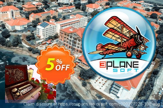 3PlaneSoft Valentine Musicbox 3D Screensaver discount 5% OFF, 2020 Halloween promotions