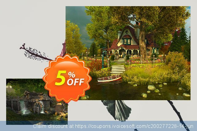 3PlaneSoft Watermill 3D Screensaver discount 5% OFF, 2020 Halloween offering sales