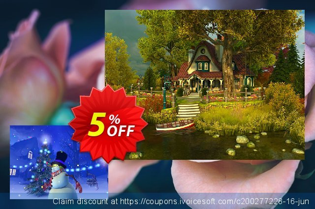 3PlaneSoft Christmas 3D Screensaver discount 5% OFF, 2020 Halloween promotions
