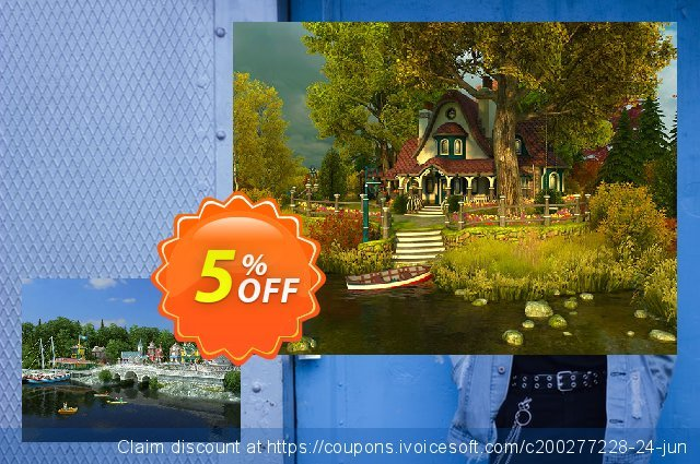 3PlaneSoft Sun Village 3D Screensaver 美妙的 促销销售 软件截图