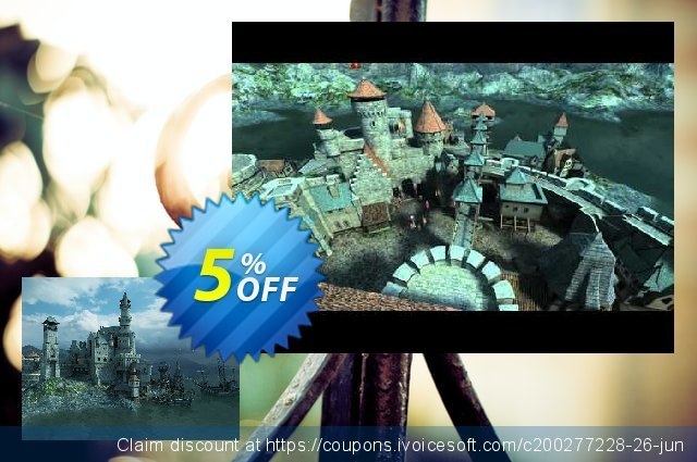 3PlaneSoft Medieval Castle 3D Screensaver discount 5% OFF, 2020 Halloween offering sales