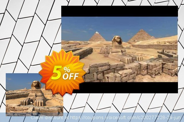 3PlaneSoft Great Pyramids 3D Screensaver discount 5% OFF, 2020 Halloween offering sales