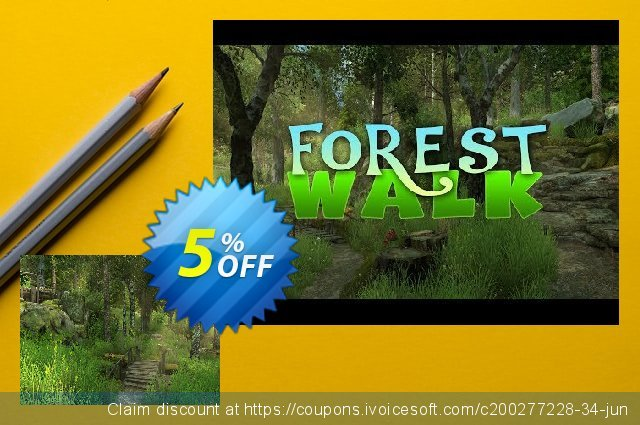 3PlaneSoft Forest Walk 3D Screensaver discount 5% OFF, 2020 Halloween discounts