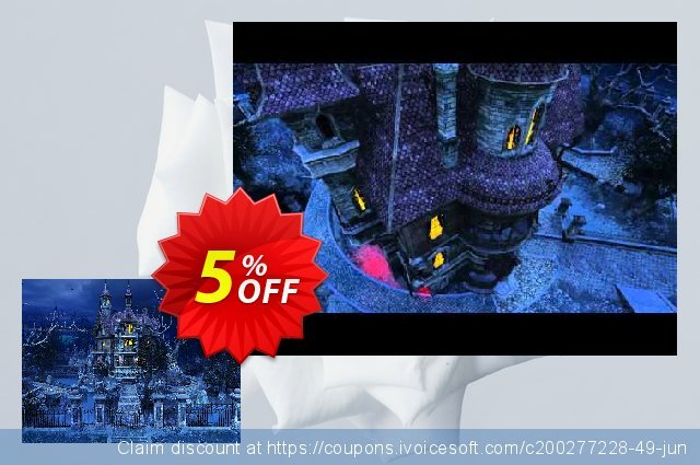 3PlaneSoft Haunted House 3D Screensaver discount 5% OFF, 2020 Black Friday offering sales