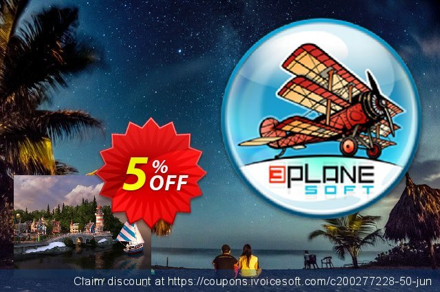 3PlaneSoft Spring Village 3D Screensaver discount 5% OFF, 2020 Halloween offering sales