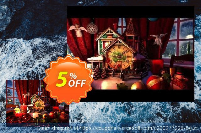 3PlaneSoft Christmas Evening 3D Screensaver 优秀的 优惠券 软件截图