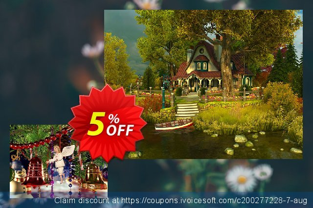 3PlaneSoft Christmas Bells 3D Screensaver discount 5% OFF, 2020 Christmas Day offering sales