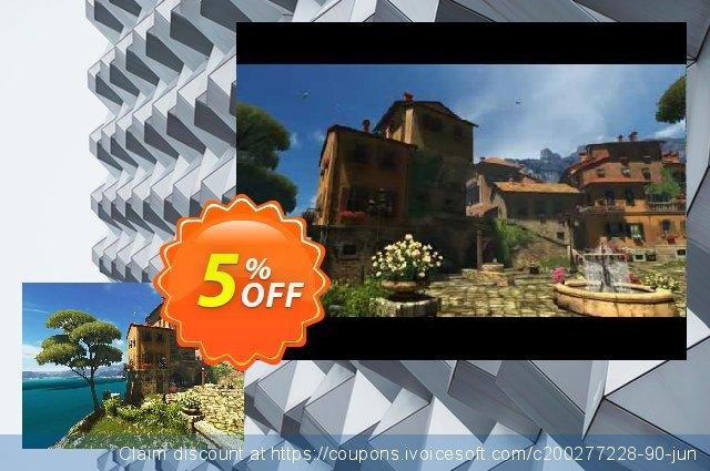 3PlaneSoft Sunny Patio 3D Screensaver discount 5% OFF, 2020 Halloween offering sales