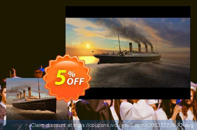 3PlaneSoft Titanic Memories 3D Screensaver discount 5% OFF, 2020 Halloween promotions