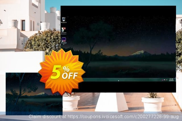 3PlaneSoft Starry Night 3D Screensaver discount 5% OFF, 2020 Halloween offering deals