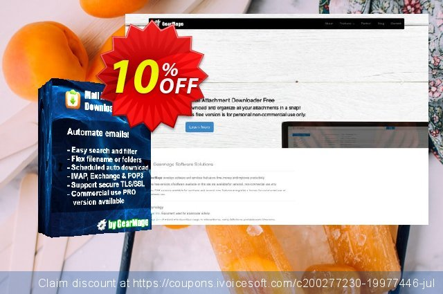 Mail Attachment Downloader PRO Client (Single License) discount 10% OFF, 2020 Halloween offering sales