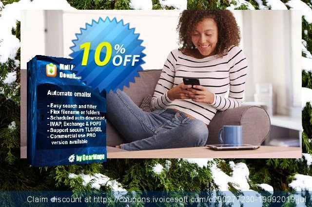 Mail Attachment Downloader PRO Server with SDK (6 License Pack) discount 10% OFF, 2020 Exclusive Teacher discount offering discount