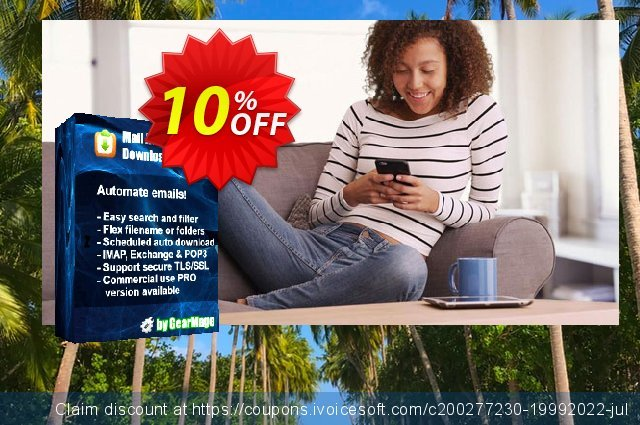 Mail Attachment Downloader PRO Server with SDK (10 License Pack) discount 10% OFF, 2020 Halloween promo