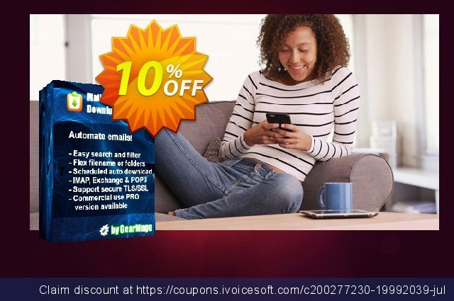 Mail Attachment Downloader PRO Server One Year Extension  위대하   세일  스크린 샷