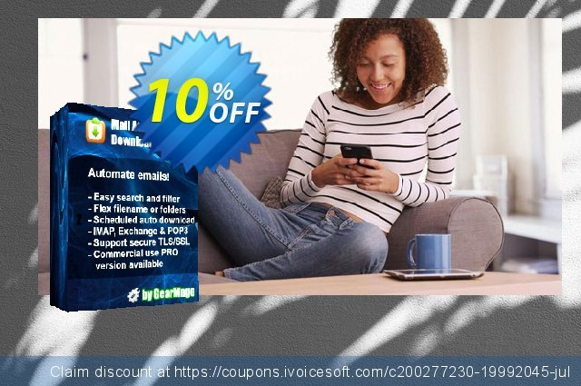Mail Attachment Downloader PRO Client One Year Extension  경이로운   매상  스크린 샷
