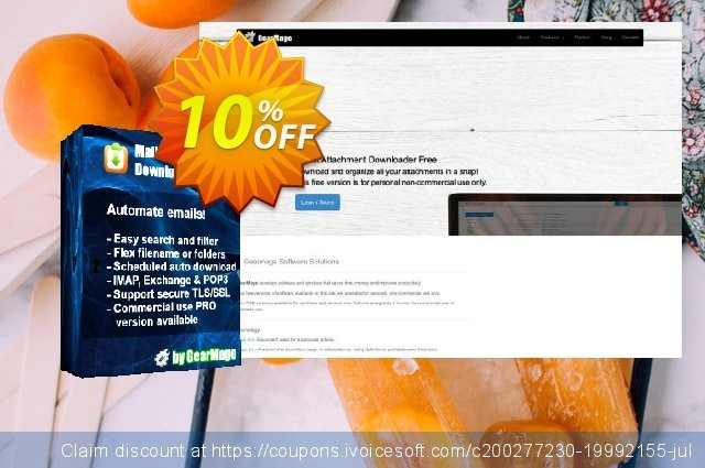 Mail Attachment Downloader PRO Upgrade (25 License Pack) discount 10% OFF, 2020 Back to School promo promo sales
