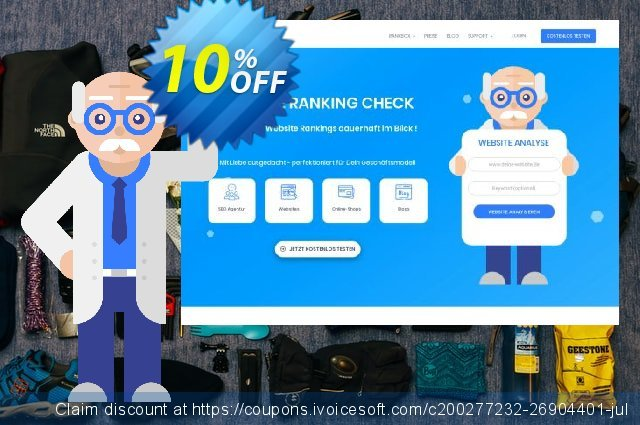 SEO-Dienstleistung, 50 Keywords, Analyse täglich, Bezahlungszeitraum 1 Monat discount 10% OFF, 2020 Back-to-School promotions offering sales