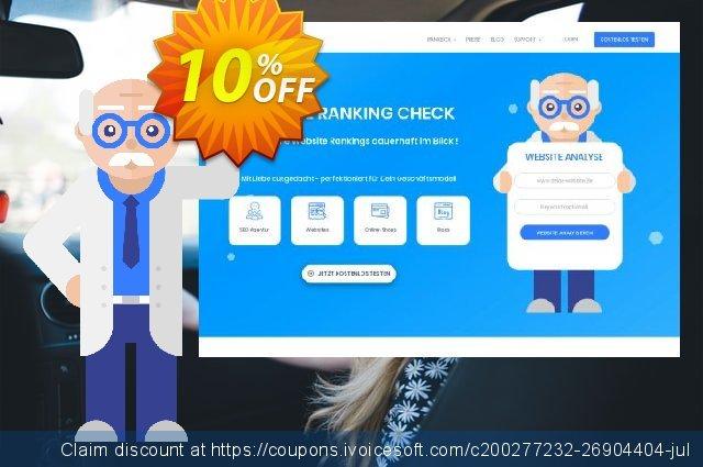 SEO-Dienstleistung, 300 Keywords, Analyse täglich, Bezahlungszeitraum 1 Monat discount 10% OFF, 2020 Back to School offer offering sales