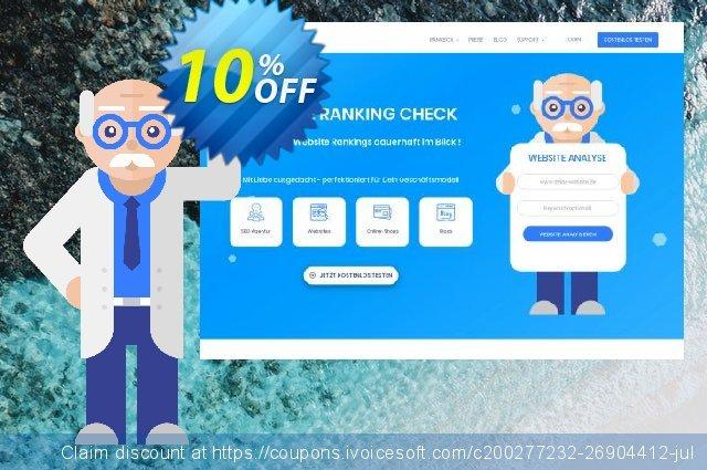 SEO-Dienstleistung, 10000 Keywords, Analyse täglich, Bezahlungszeitraum 1 Monat discount 10% OFF, 2020 University Student deals discount