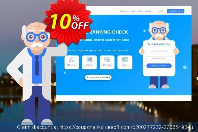 SEO-Dienstleistung, 300 Keywords, Analyse täglich, Bezahlungszeitraum 6 Monate discount 10% OFF, 2020 Back to School season offering deals