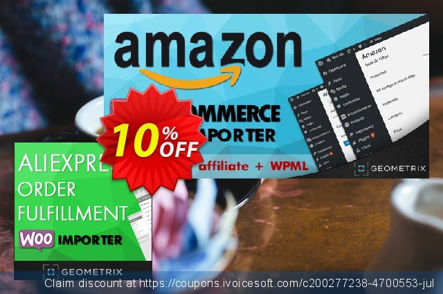 Aliexpress Order Fulfillment WooImporter (Add-on) discount 10% OFF, 2020 University Student offer offering sales
