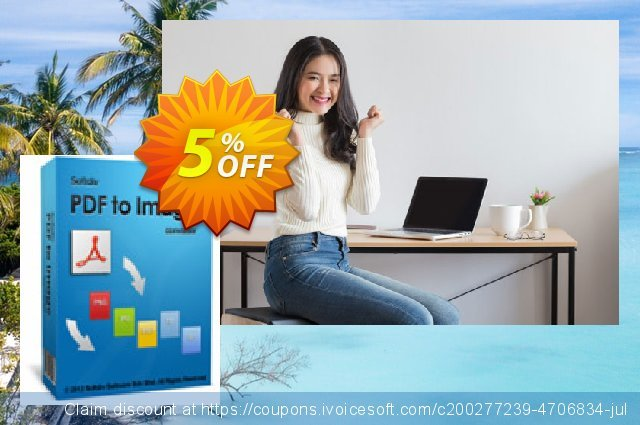 Softdiv PDF to Image Converter discount 5% OFF, 2020 Back to School deals offering discount