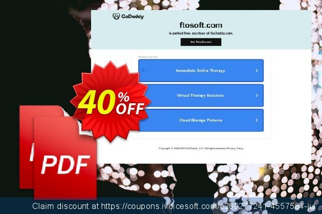 Ftosoft PDF Merger discount 40% OFF, 2020 Back to School promotion offering sales