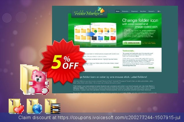Everyday Folder Icons discount 5% OFF, 2021 Magic Day deals. Everyday Folder Icons Wondrous offer code 2021