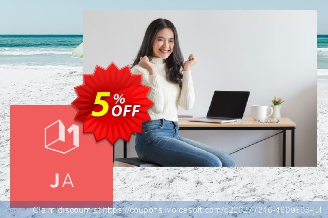 Joomfolio for Articles - Standard subscription discount 5% OFF, 2021 Happy New Year promo