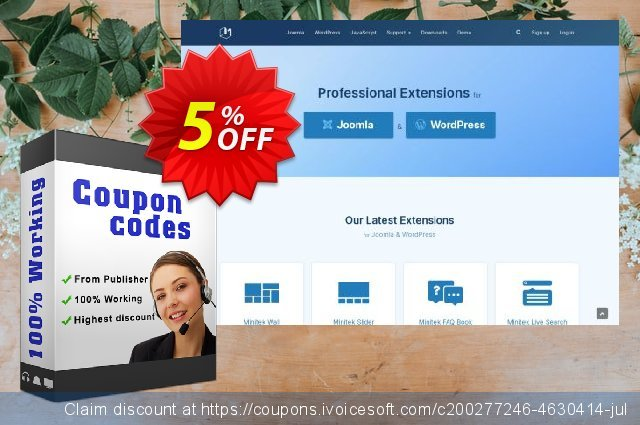 Joomla! Extensions - Standard Subscription 令人惊讶的 折扣 软件截图