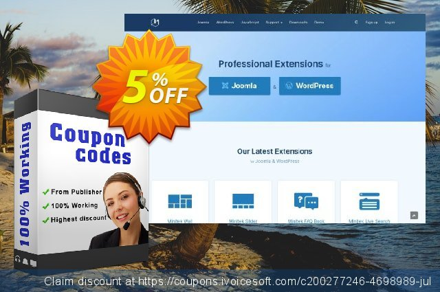 Wordpress Plugins - Professional Subscription 惊人的 优惠券 软件截图
