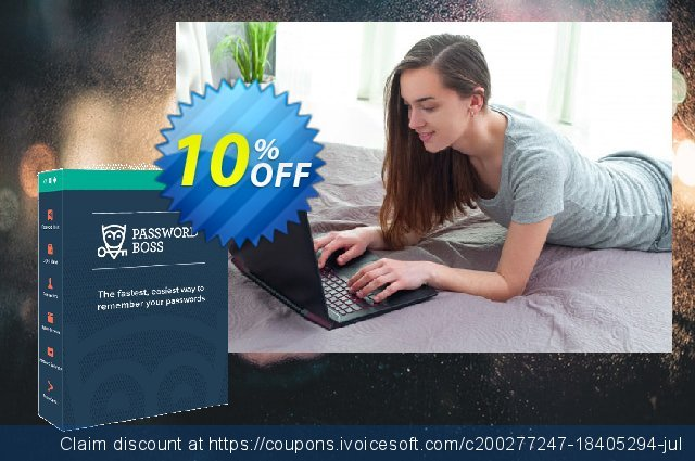 Password Boss Family (5 Users) discount 10% OFF, 2020 Black Friday offering sales