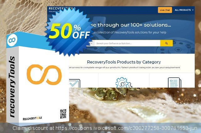 Recoverytools Zoho Backup Wizard discount 50% OFF, 2021 Happy New Year promotions