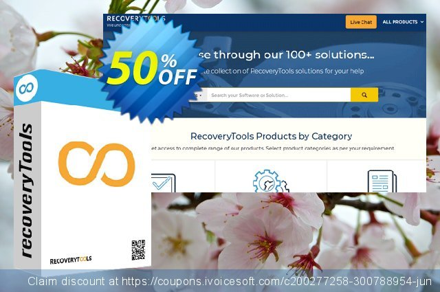 Recoverytools Zimbra Converter - Corporate License discount 50% OFF, 2021 Happy New Year offering discount