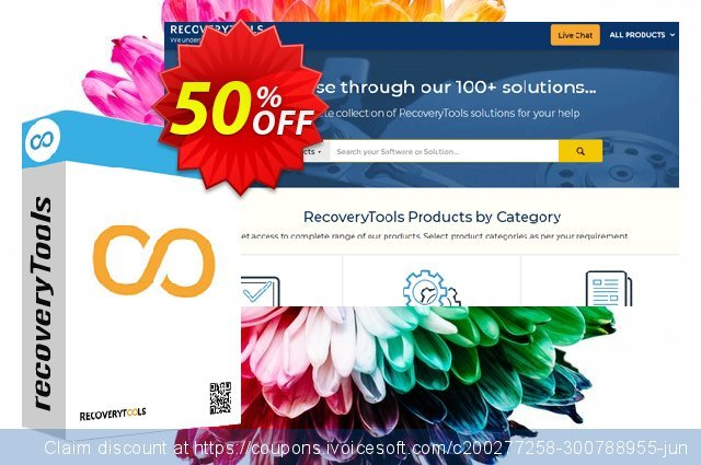 Recoverytools Zimbra Converter - Enterprise License discount 50% OFF, 2021 New Year's Weekend offering sales