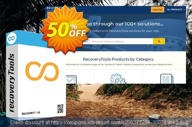 Recoverytools Zimbra Wizard discount 50% OFF, 2021 New Year's Weekend offering sales