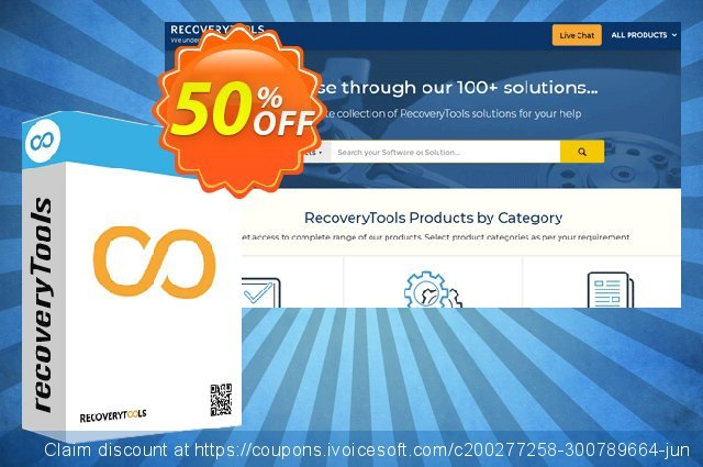 Recoverytools Zimbra Wizard - Enterprise License discount 50% OFF, 2021 New Year offering sales