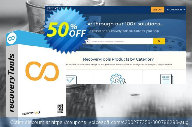 Recoverytools MSG to PDF Wizard - Pro License discount 50% OFF, 2020 Halloween offering sales