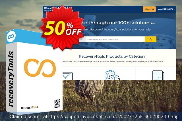Recoverytools Zimbra Converter - Enterprise License (AD) discount 50% OFF, 2021 Happy New Year deals