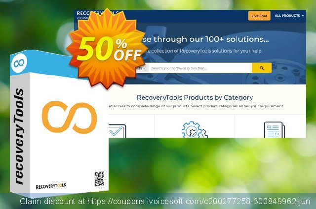 RecoveryTools MBOX to OLM - Corporate License discount 50% OFF, 2021 New Year discount