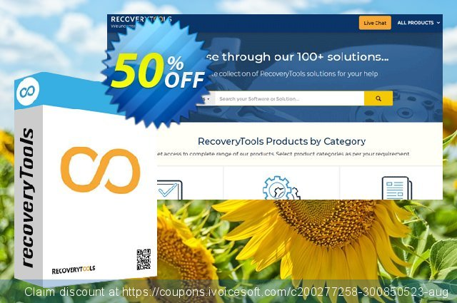 Recoverytools MDaemon Migrator - Corporate License discount 50% OFF, 2021 All Saints' Eve discount. Coupon code MDaemon Migrator - Corporate License