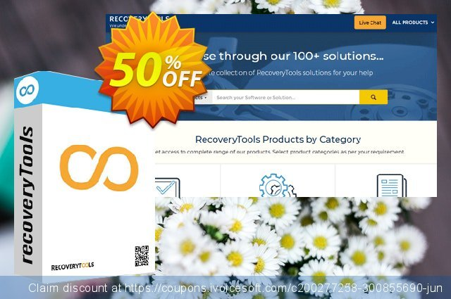 Recoverytools MDaemon Converter - Discounted discount 50% OFF, 2020 Halloween offer