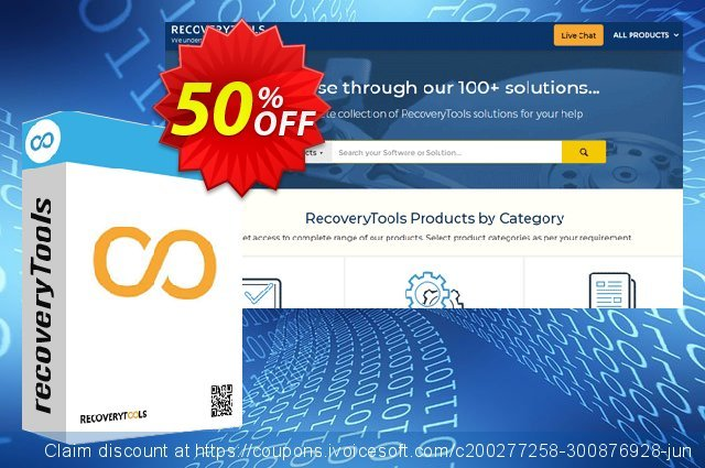 Recoverytools SmarterMail Migrator - Pro License discount 50% OFF, 2020 Halloween discounts