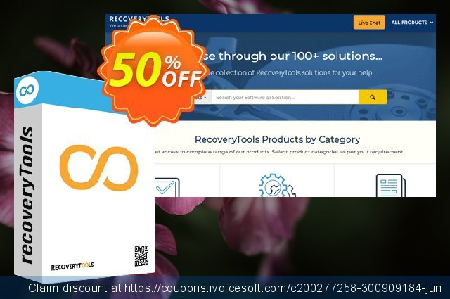 RecoveryTools DBX Migrator discount 50% OFF, 2021 Happy New Year offer